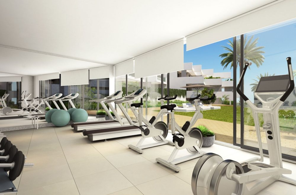 The gym at Pure South